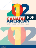 2012 Canadian American Cities Online Marketing Index©