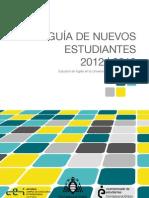 Guia de Nuevos Estudiantes 2012-2013