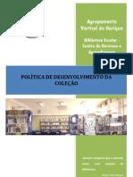 política e gestão da coleção BE ourique