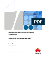 Maintenance Guide (Web LCT)-(V100R002C00_03)