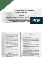 Perda Kab Semarang No 9 Tahun 2006 Tentang Pemilihan Kepala Desa