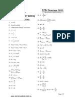 SPM Physics Formula List NOT Given