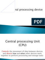 The Central Processing Device