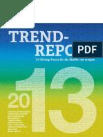 Trend-Report 2013