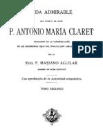 VIDA DE SAN ANTONIO MARÌA CLARET-TOMO 2