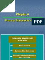 Ch 06 FinancialStatementAnalysis