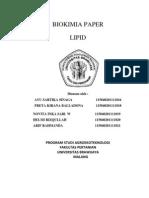 Biokimia Paper Lipiid