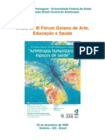 Anais Fórum Goiano de Arte, Educação e Saúde-08