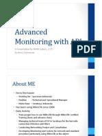 Advanced MikroTik Monitoring via API