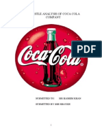pestel analysis of coca cola