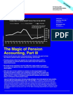 The Magic of Pension Accounting, Part III