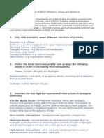 BS125 - Tutorial Worksheet - Proteins