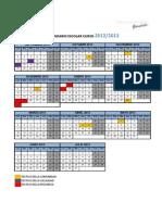 calendario escolar 2012_13