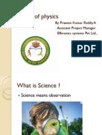 Insight of physics