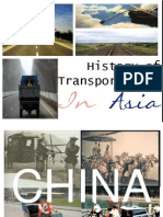 History ot Transportation in Asia
