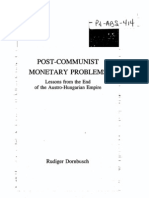 POST-COMMUNIST MONETARY PROBLEMS