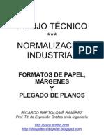 FORMATOS DE PAPEL. MÁRGENES. PLEGADO Y ARCHIVADO DE PLANOS.