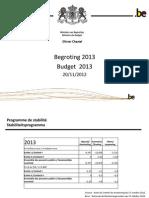 Conclave Budget 2013