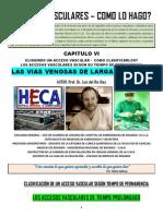 ACCESOS VASCULARES - COMO LO HAGO? CAPITULO VI