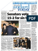 Manila Standard Today - Wednesday (November 21, 2012) Issue