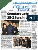 Manila Standard Today - Wednesday (November 21, 2012) Issue