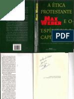 WEBER, Max. A ética Protestante e o espírito do capitalismo. (Comp. das Letras)[1]