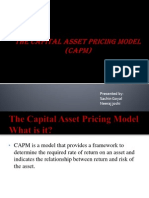 The Capital Asset Pricing Model (CAPM) (1)