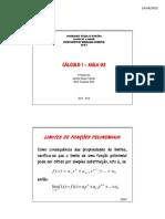 Aula 3 Cálculo I Eng Amb 2012 1