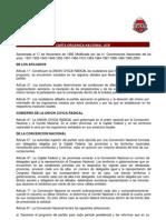 Carta Organica de La Ucr
