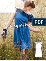 B530 en Sewing Instructions Summer Dress