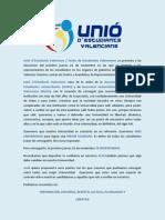 Programa Unió EV