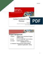 [C1] YANGZON Karma_Carbon Funding for Indian Railways