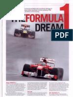 The Formula-1 dream