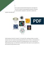 Example of Nanomaterials