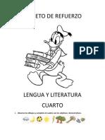 FOLLETO de REFUERZO Lengua y Literatura (2)