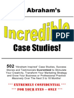 502 Incredible Case Studies Jay Abraham