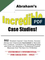 502 Incredible Case Studies Jay Abraham