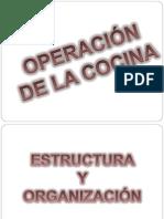 Estructura y Organizacion de La Cocina