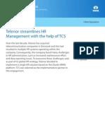 Telecom CaseStudy Telenor Streamlines HR Management System 07 2011
