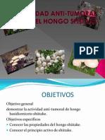 Actividad Anti-tumoral Del Hongo Shiitake