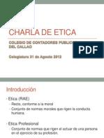 Charla Etica