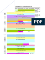 2011-2012 Plsql Course Map Section Names