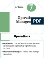 Lecture07- Operations Management