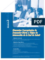 Módulo 2 - Elementos Conceptuales de Demanda - Oferta y Flujos de Interacción de la Red de Salud