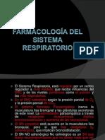 Farmacología del sistema  respiratorio