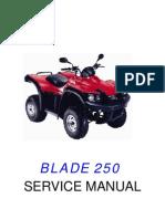 TGB Blade 250 Service Manual