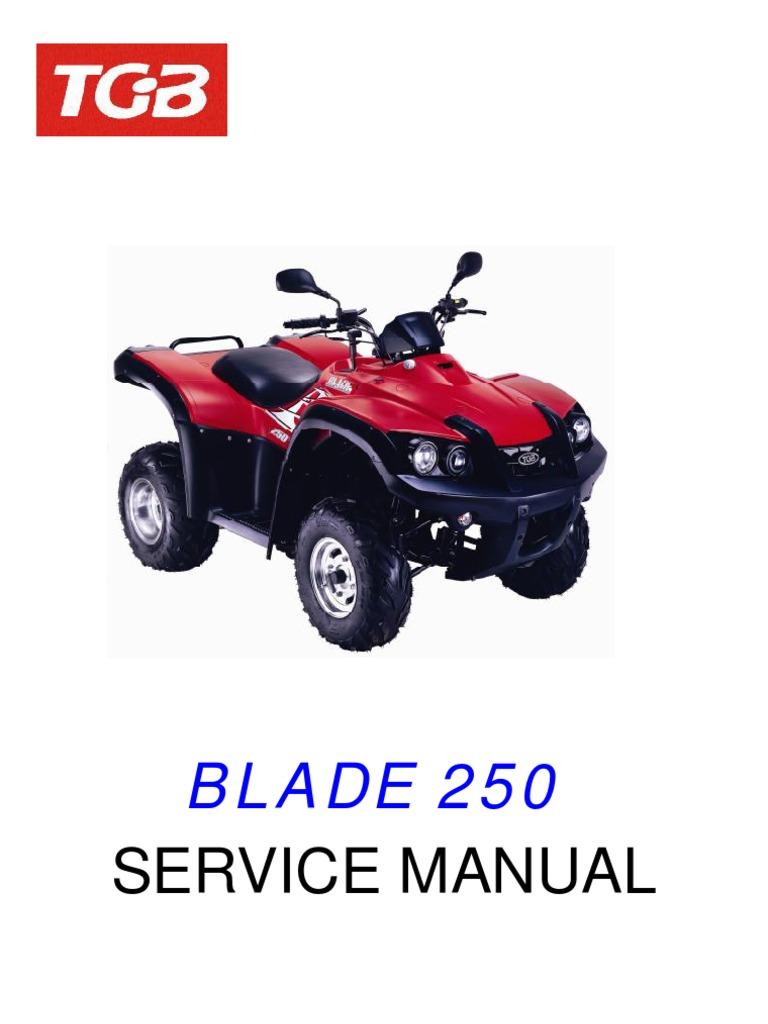 manual tgb blade 250