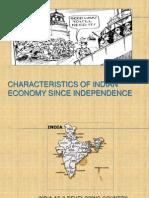 Characterisitics of Indian Economy