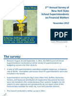 2012 School Finance Survey Presentation