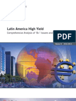 Fitch Latin America High Yield 2012-2013